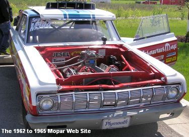 1964 Plymouth drag racer