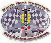 North East Nostalgia Drag Racing Association Logo