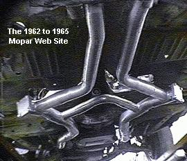 Max Wedge exhaust picture, courtesy of Accurate LTD