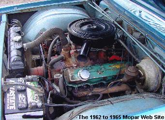1965 Dodge 880 engine
