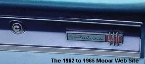 1965 Dodge 880 glove box