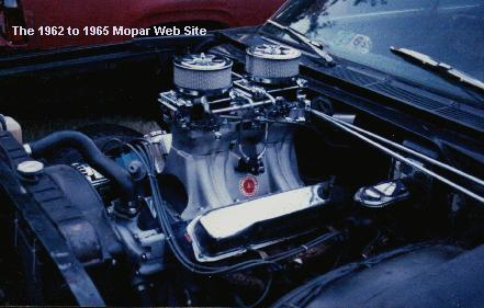 1965 Plymouth Fury 440 engine