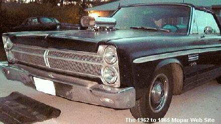1965 Plymouth Fury profile