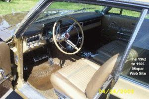 1965 Plymouth Sport Fury interior