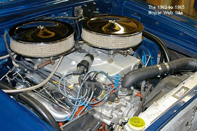 1964 Plymouth Fury, engine