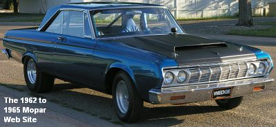 1964 Plymouth Fury, passenger side front