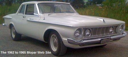1962 Plymouth Savoy Max Wedge