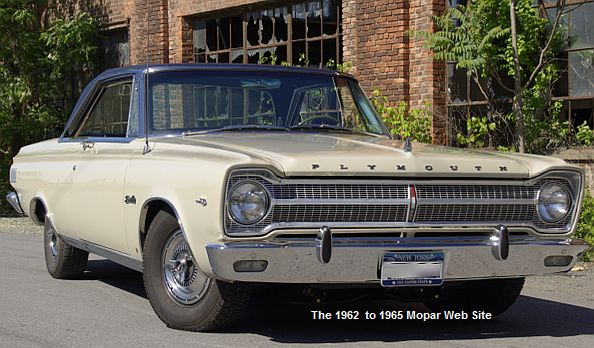 1965 Plymouth Satellite, front