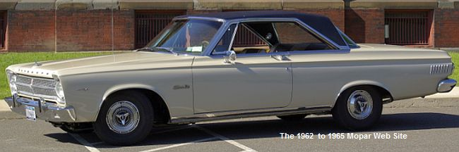 1965 Plymouth Satellite, driver side