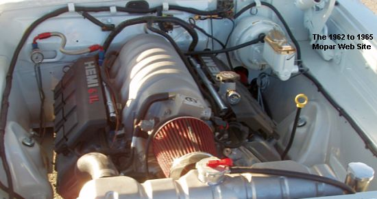 1963 Plymouth Fury 6.1 crate Hemi engine