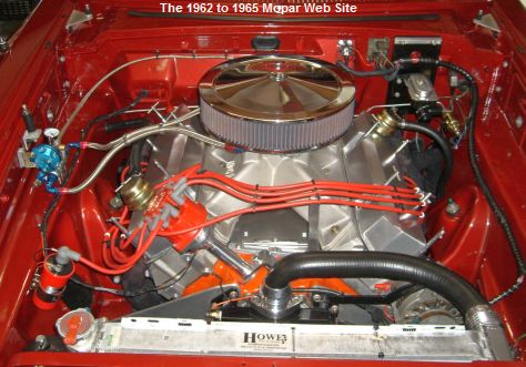 1962 Plymouth Savoy 440 engine