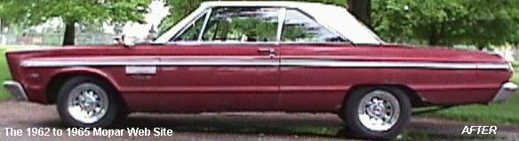1965 Plymouth Fury III after restoration