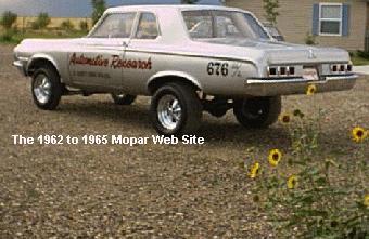 1964 Dodge rear - AWB Dick Landy