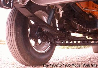 1964 Dodge front suspension - AWB Dick Landy