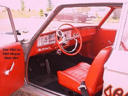 1964 Dodge interior - AWB Dick Landy