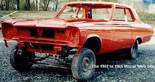 1965 Plymouth altered wheelbase