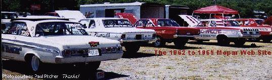 Early B Body Mopars on the prowl