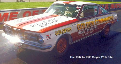 1965 Plymouth Barracuda, GOLDFISH, in Indianapolis Lucas Oil Raceway