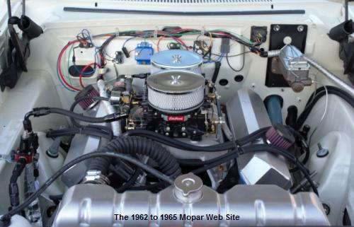 1964 Plymouth Fury, stroker engine