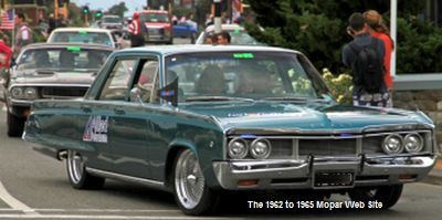 1968 Dodge Polara in New Zealand parade