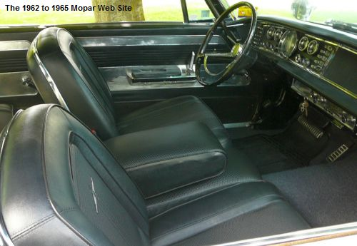1964 Chrysler 300 interior