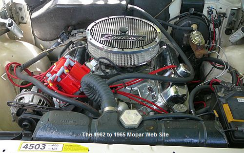 1964 Chrysler 300 383 engine