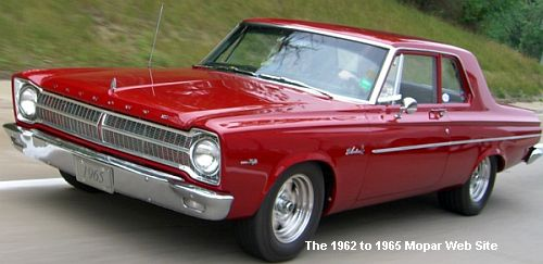 1965 Plymouth Belvedere I driver side on highway