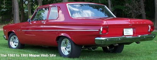 1965 Plymouth Belvedere I driver side rear