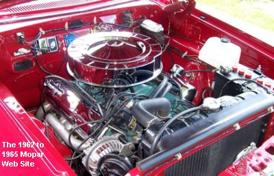 1965 Plymouth Belvedere 440 engine
