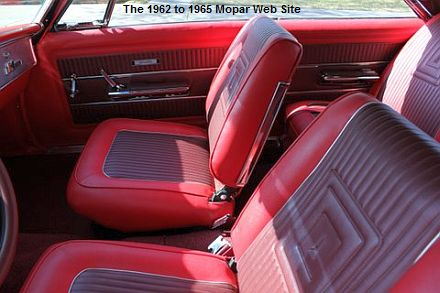 1965 Plymouth Satellite interior