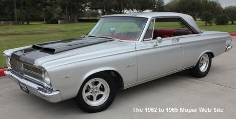 1965 Plymouth Satellite front driver side