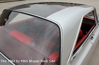 1965 Plymouth Satellite roof pilar