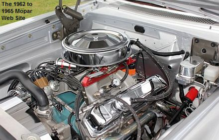 1965 Plymouth Satellite 440 engine