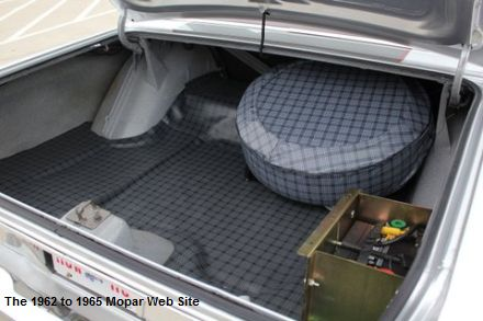 1965 Plymouth Satellite trunk