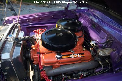 1963 Plymouth Savoy, engine