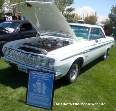 1964 Plymouth Fury passenger side