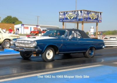 1963 Dodge max wedge convertible