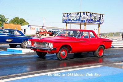 1962 Plymouth drag racer