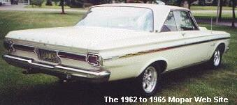 1965 Plymouth Belvedere, rear view