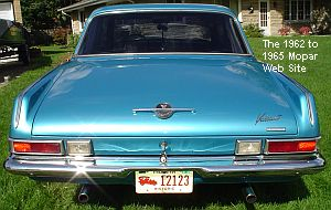 1963 Plymouth Valiant rear view