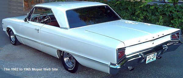 1965 Dodge Polara rear view