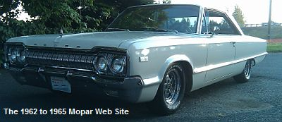 1965 Dodge Polara front driver side