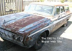 1964 Plymouth Fury Station Wagon driver front