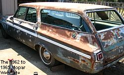 1964 Plymouth Fury Station Wagon driver rear